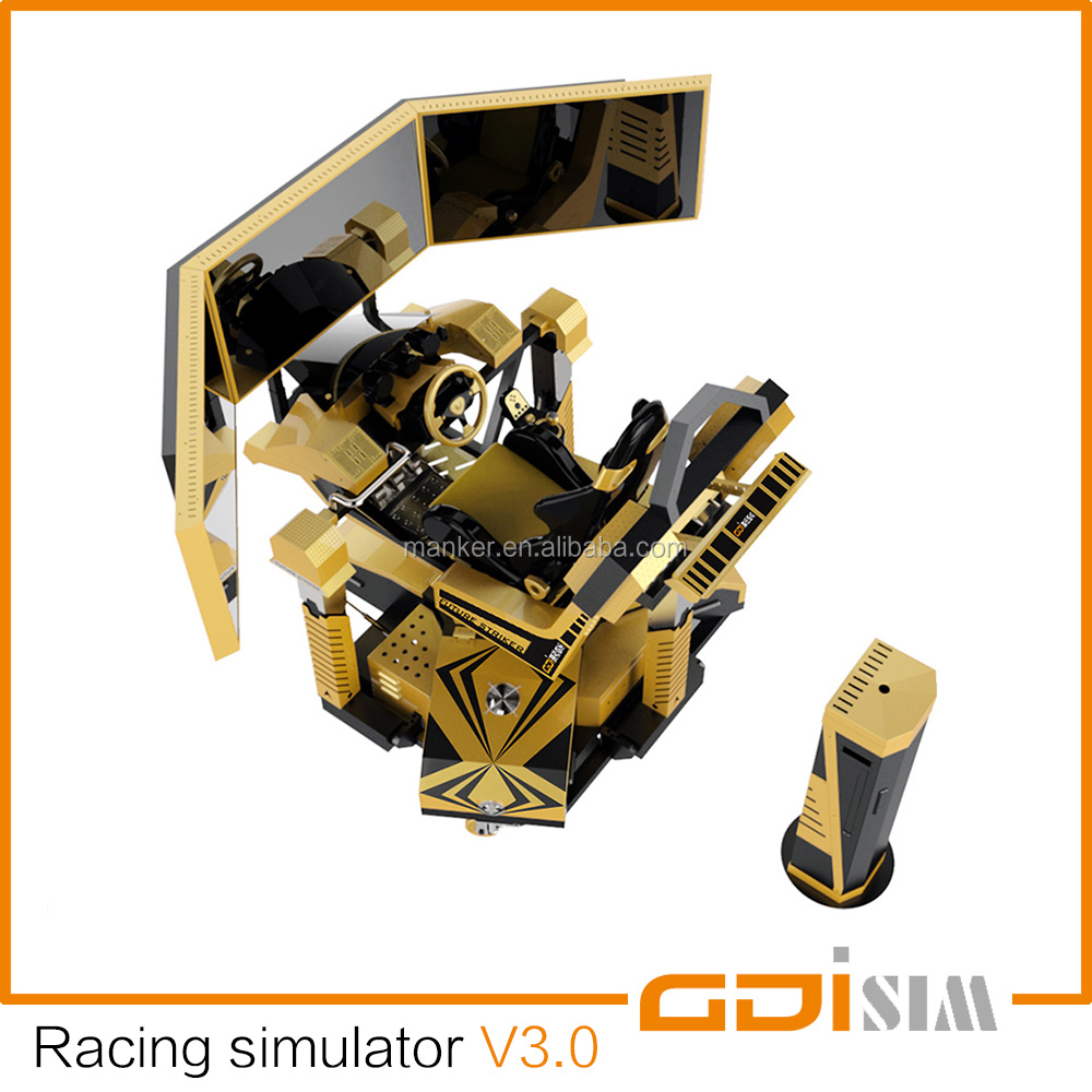 Racing car driving simulator V3.0 / imotion simulator
