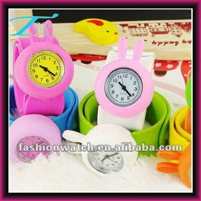 silicone band 2016 new products slap silicon watch