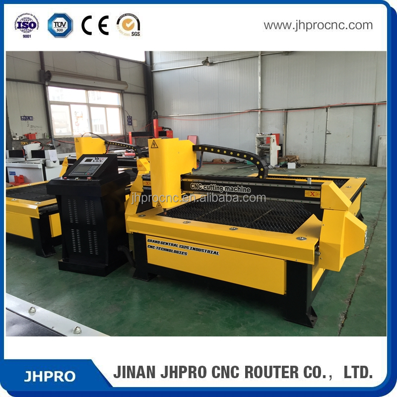 High precision 1325 sheet steel metal cnc plasma cutting machine / cnc plasma cutter for sale