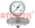 Dry Type Airtight Seal Threaded Diaphragm Pressure Gauge (Screw Set)