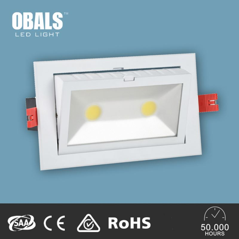 Professional Factory Supply Adjustable rotatable led cob downlight for cloth shop