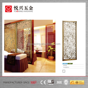 stainless steel hanging screen room dividers