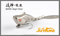 Mars-Night Raid(Silver)--spinner bait fishing lure for fishing