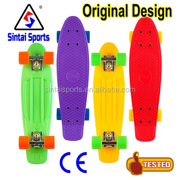 22/27 inch wholesale fish board fish skateboard