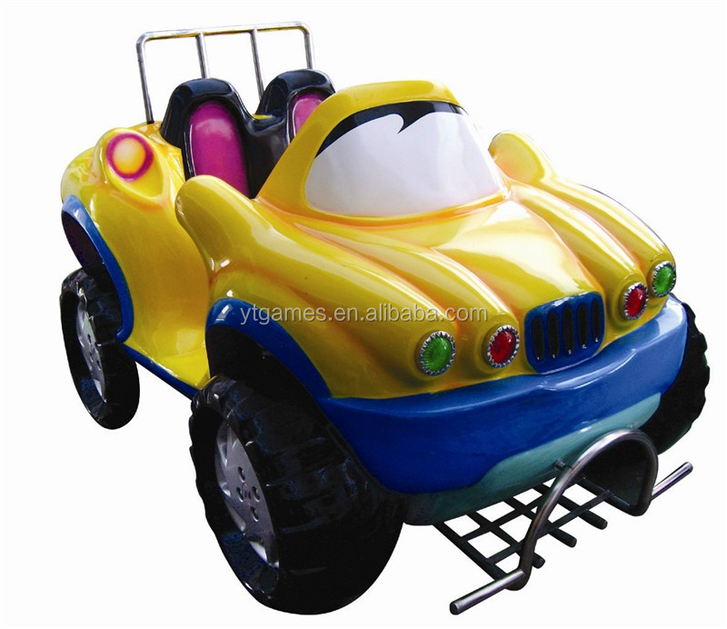 coin operated games super car girl and boy kiddie rides with interactive games for sell
