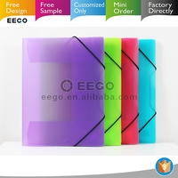 Office stationery personalized plastic pp file folder