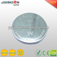 cr2032 cmos battery with wires 3V Lithium Button cell coin