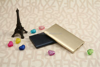 newest power bank with memory card alluminum alloy power bank 5000 mah made in China power bank