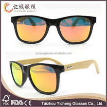2015 handmade recycled wholesale customizable bamboo sunglasses