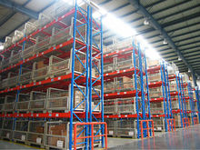 Mingsheng american type industrial warehouse heavy load pallet rack for export