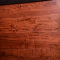 Black Walnut Smooth Engineered Solid Wood Flooring Stained Color or Natural
