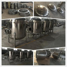 multi bags filters are used in cooking oil industry