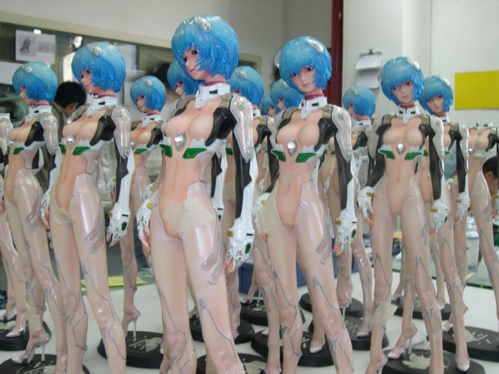 Polyresin Anime Figures