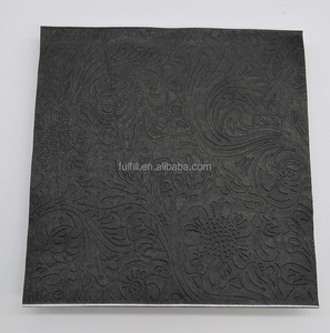 3D embossed paper napkins folding and cheap tissue paper wholesale