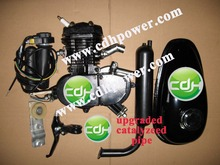 49CC 50cc 2 Cycle Motor kits Bicycle Motorized Bike Petrol Gas Black Engine Kit