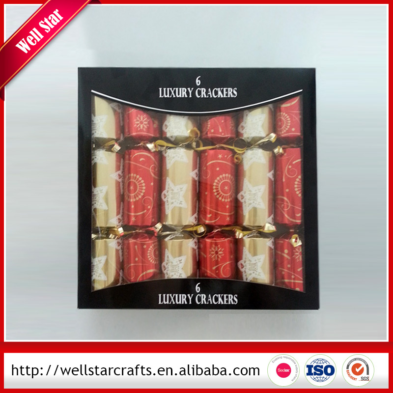 Competitive Price Party decorations paper Christmas cracker Made in China