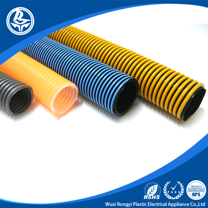Hot sale black pp/pe pipe flexible corrugated hose
