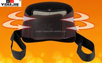 tourmaline magnetic self-heating brown lumbar back support belt