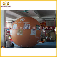 Custom logo inflatable balloon, advertising helium balloon, inflatable exhibition sphere