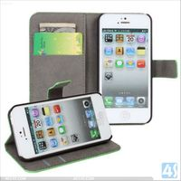 Shenzhen Hot Selling Cute Pattern Folio PU Leather Case for iPhone 5 5S Case P-IPH5CASE150