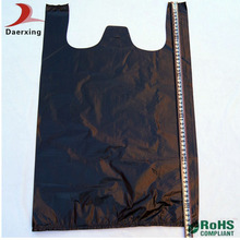 Good price disposable t-shirt shopping bag with good service