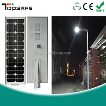 Supply Motion Sensor IP65 Integrated 60W Solar Led Street Light