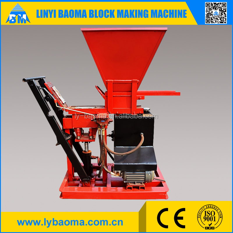 Eco compressed earth block 1-15 cement brick making machine