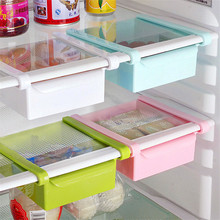 Creative Refrigerator Storage Box Fresh Spacer Layer Storage Rack Pull-out Drawer Fresh Spacer Sort Kitchen Supplies