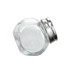 wholesale glass jar with sealed cap or open-topped cap with spoon