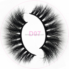High quality false eyelash Real 3d mink strip eyelashes