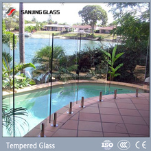 Tempered glass toughened glass pool fencing
