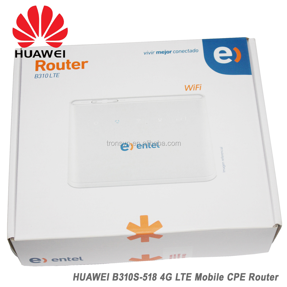 Original 150Mbps Huawei B310 B310S-518 4G LTE CPE Wireless Wifi
