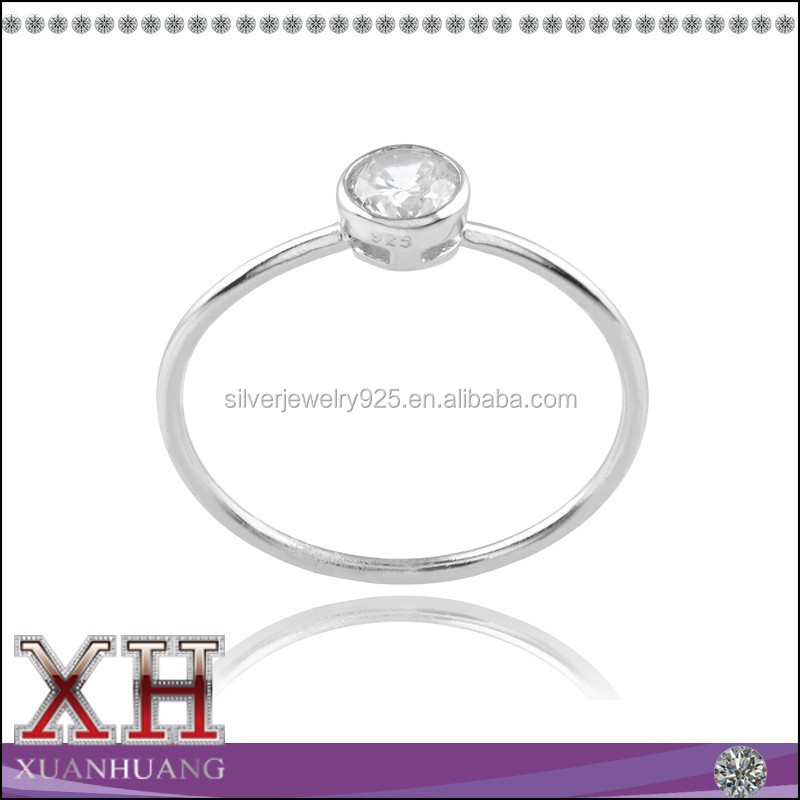 Xuan Huang Silver Jewelry New Collection Single Gemstone Ring
