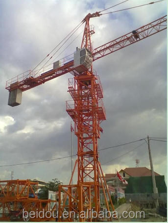 Hot sales QTZ Topkit Tower Crane with CE & ISO used for 132HC