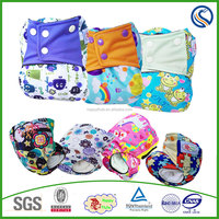 Happy flute baby cloth diaper AIO sleepy diaper one size fits all wholesale manufacturer