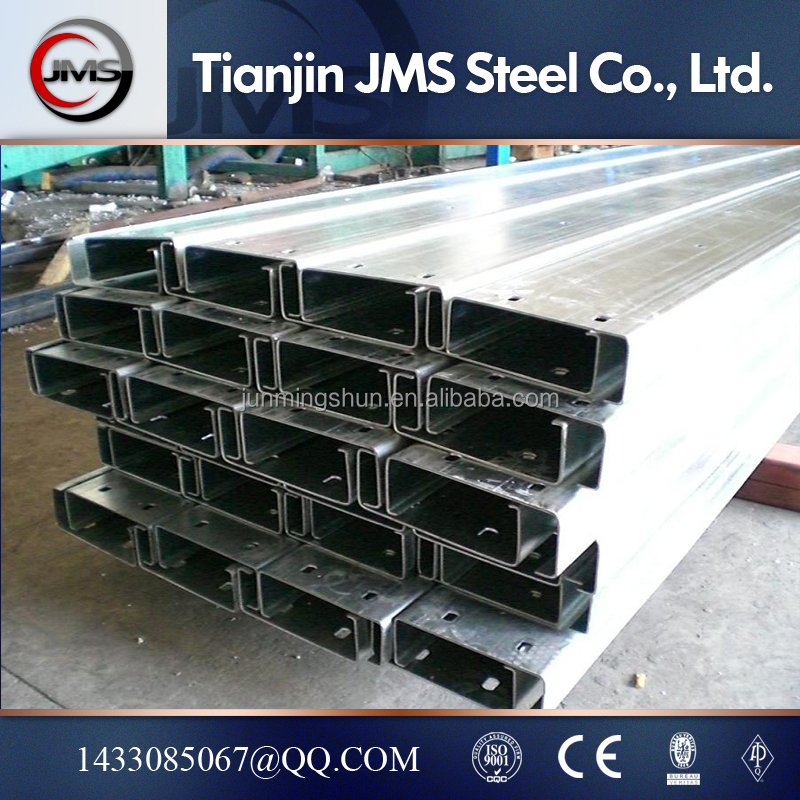 Cold Rolled C/Z/U Type Construction Steel C channel steel profile