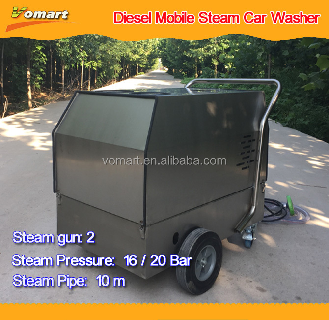 30 bar china diesel mobile eco steam car wash machine prices for sale