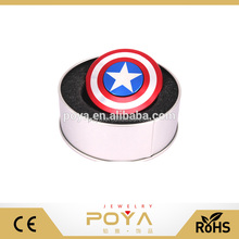 360 spinner fidget toy,captain america cube bearing spinner