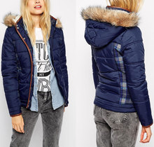 2014 Latest design wholesale women fashion fancy winter coats