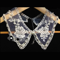 New arrival fancy lace collar neck designs for women DHDC1502