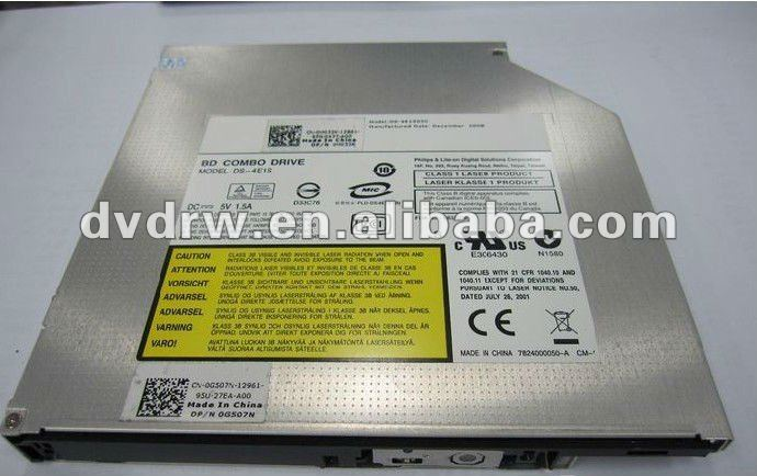 Internal notebook SATA Slot-in BD-Rom DL-4ETS Blu ray DVD Drive