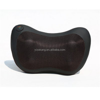 Portable Shaitsu Neck Vibrating Car Massage Pillow