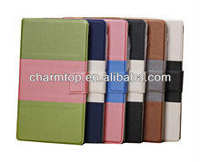 Dual Color Leather Case Cover For Google Nexus 7 2nd Generation