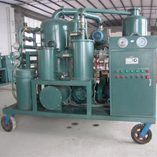 9000L/H Double Stage Vaccum Transformer Oil Filtering Plant