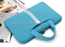 Unique style fashion design custom made colorful neoprene laptop case with zipper