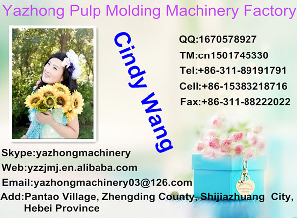 Waste Paper Egg Tray Machine / Semi Automatic Egg Tray Machine / Reciprocating Egg Tray Machine