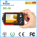 Winait digital camera disposable camera with16x digital zoom andunique dual screens Max 24mp HD1080P waterproof digital camera