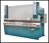 Export WC67K 300T/3200 aluminum sheet cnc press brake price , hydraulic plate folding machine
