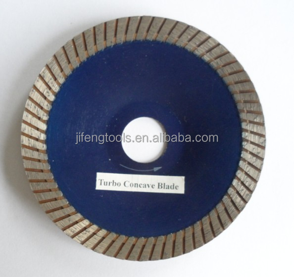 "4"" Turbo Concave Saw Blade"