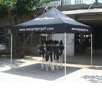 Outdoor folding garage tent for new product promotion